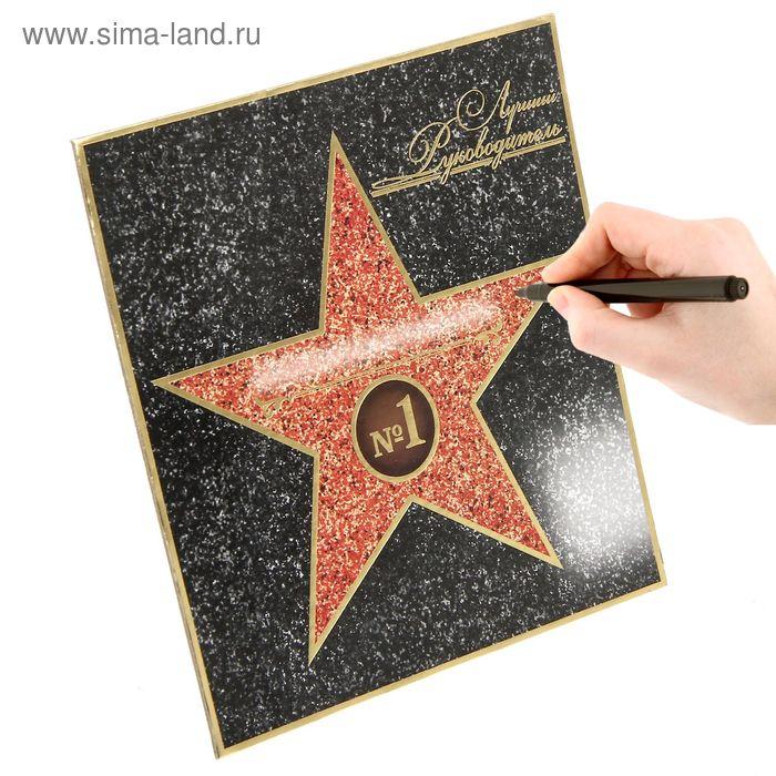 """Диплом Голливудская звезда """"Лучший руководитель"""""""