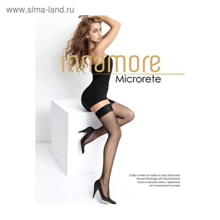 Чулки женские Innamore Microrete Calze, сетка, цвет miele (лёгкий загар), размер 2