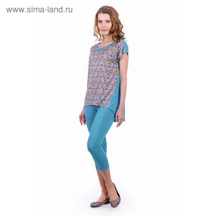 "Комплект женский ""Жасмин"", цвет изумрудный, размер 52 (арт. MK2326/01)"