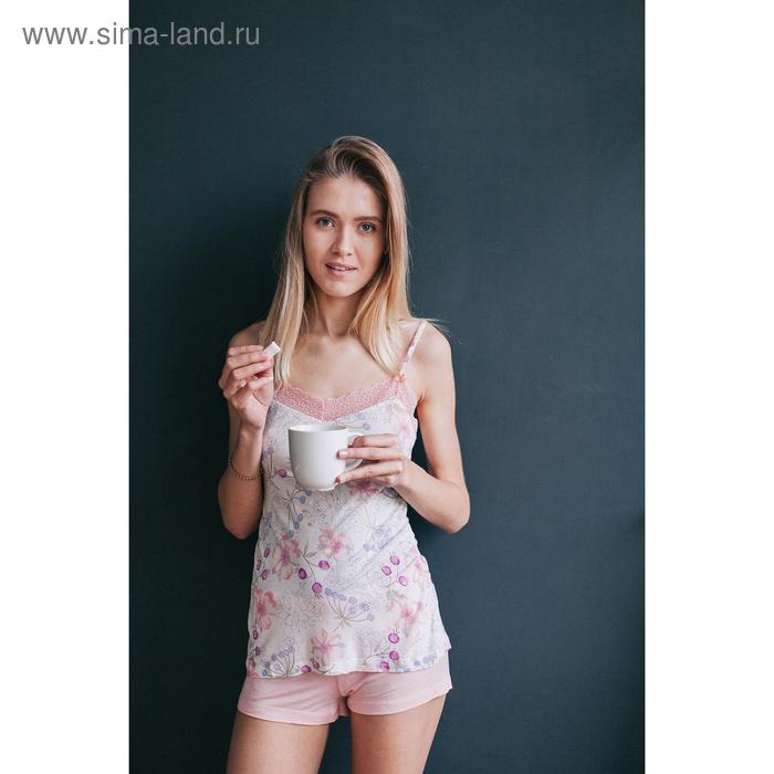 Пижама женская Дольче Вита MV242363/01 персиковый, р-р 50 (100) вискоза