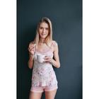 Пижама женская Дольче Вита MV242363/01 персиковый, р-р 52 (104) вискоза