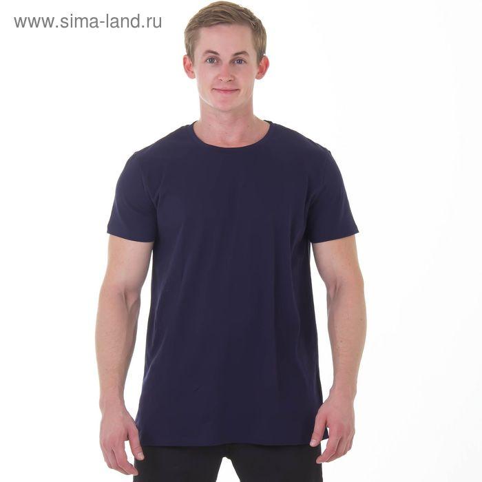 """Футболка мужская """"Спорт"""", цвет синий, рост 182-188 см, размер 52 (арт. MK20105/05)"""
