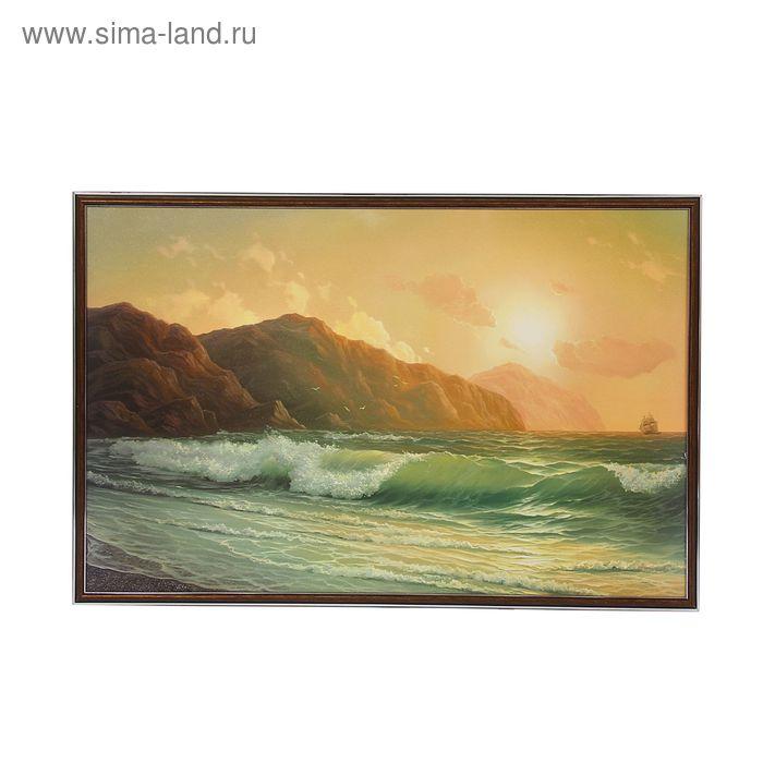 "Картина ""Закат у моря"""