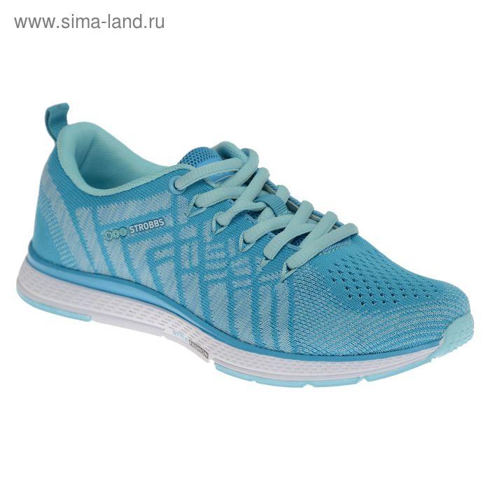 Кроссовки женские STROBBS, цвет голубой, размер 40 (арт. F6396-13)