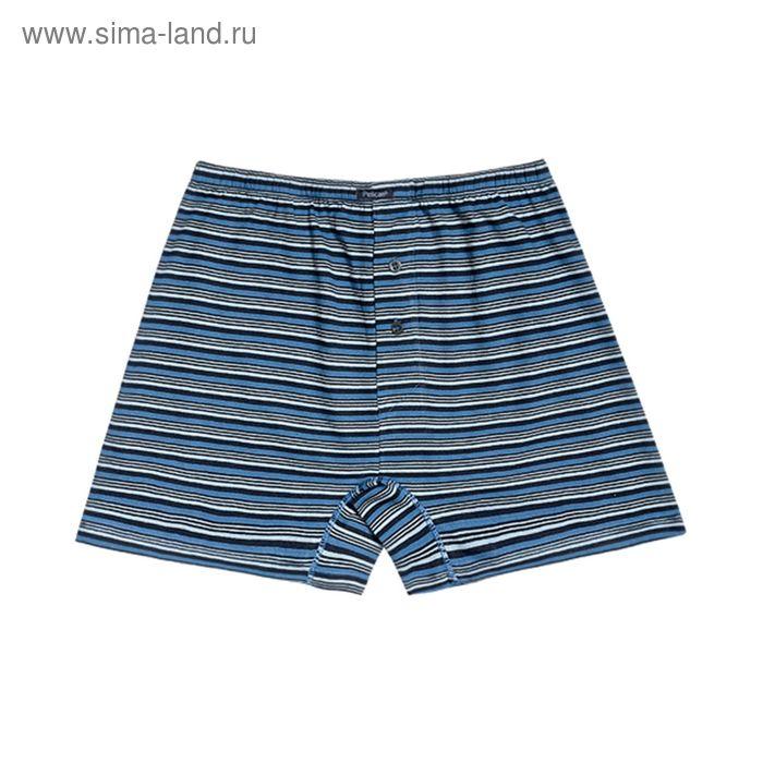 Трусы мужские свободные, цвет синий, размер 52 (XXL) (арт. MB574)