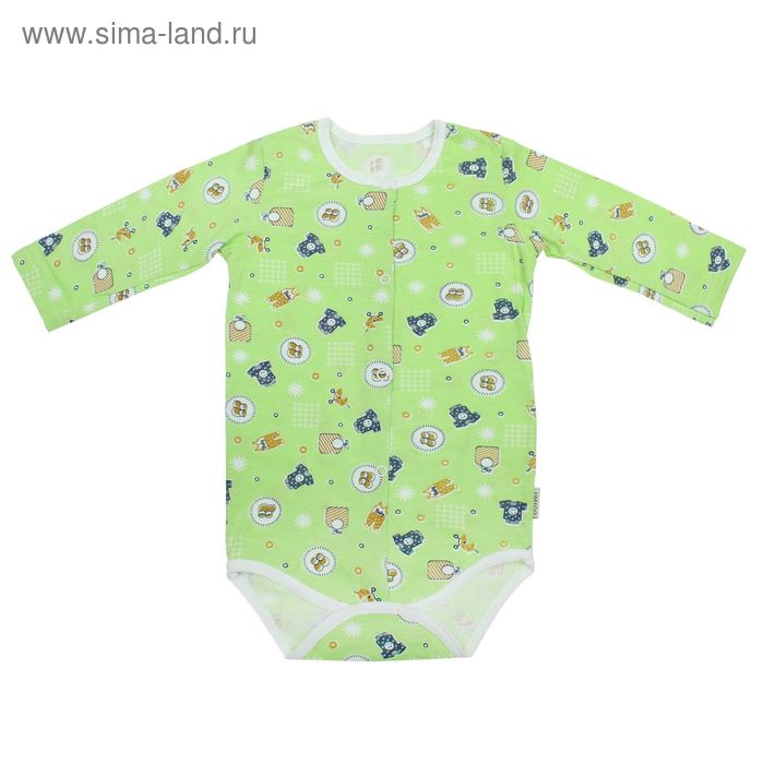 Боди, возраст 6 месяцев, цвет МИКС (арт. FF-254)