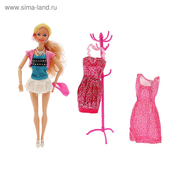 "Кукла Джейн, набор ""Летний гардероб"" в пакете"