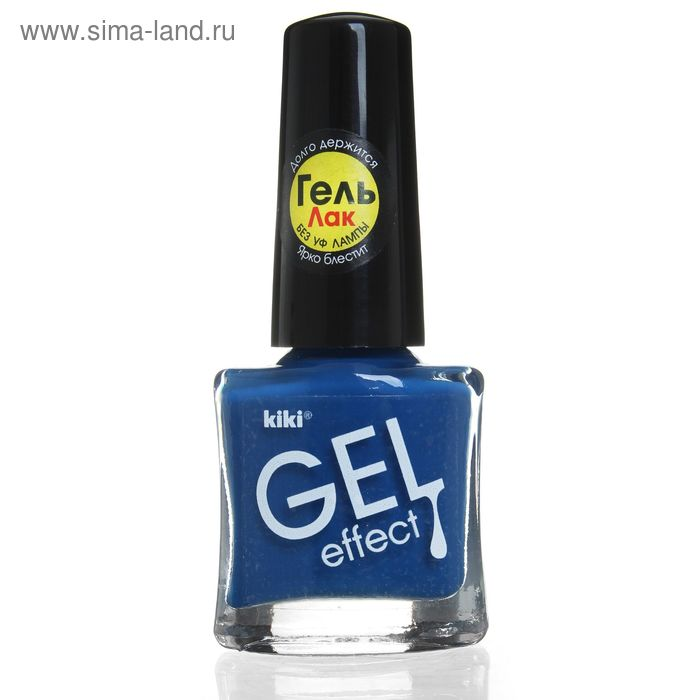 Лак для ногтей Kiki Gel-effect, тон 005, 6 мл