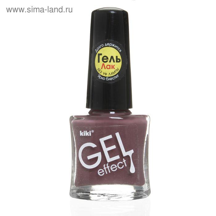 Лак для ногтей Kiki Gel-effect, тон 022, 6 мл