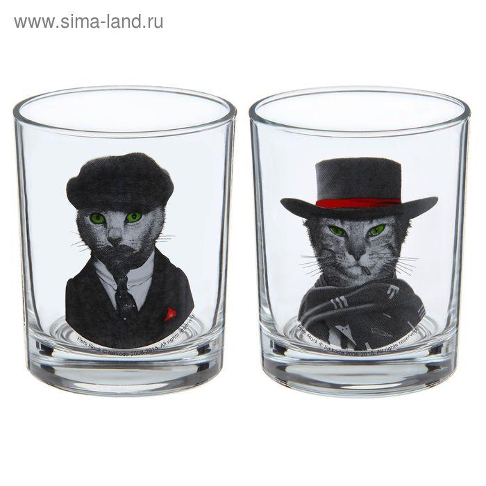 """Набор стеклянных стаканов 250 мл """"Ленин. Иствуд"""", 2 шт"""