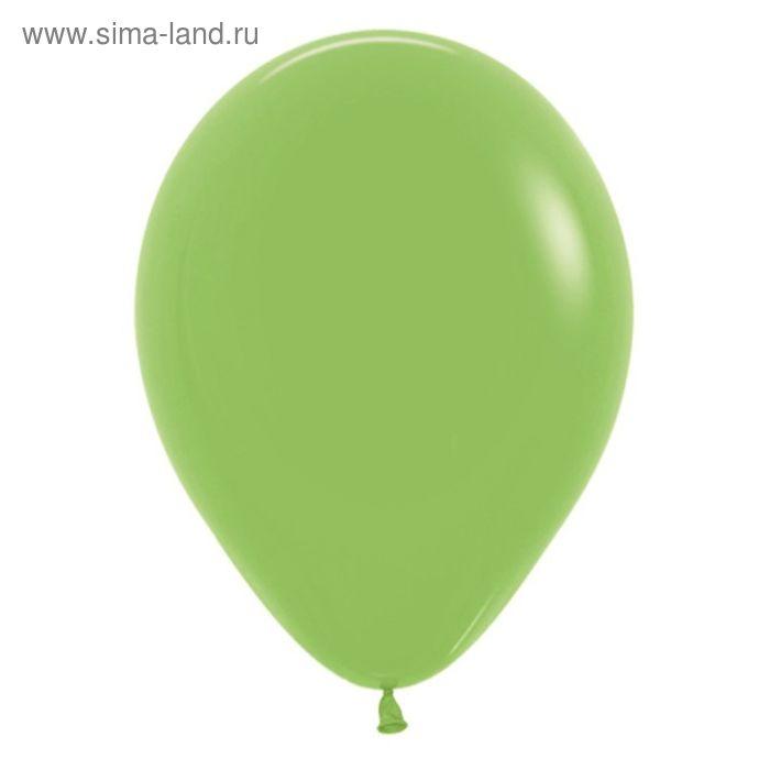 """Шар латексный 18"""", пастель, набор 25 шт., цвет светло-зелёный"""