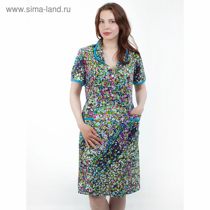 Платье женское домашнее 4007, МИКС, р-р 60
