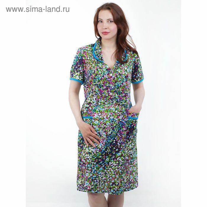 Платье женское домашнее 4007, МИКС, р-р 48