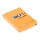 Блок с липким краем 51х76мм Hopax 100 листов 21160 Neon оранжевый