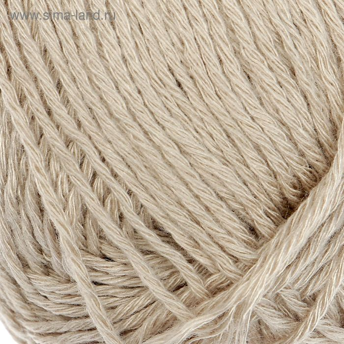 "Пряжа ""Бамбуковая"" 100% бамбук.волокно 130м/50гр (0512, жемчуг)"