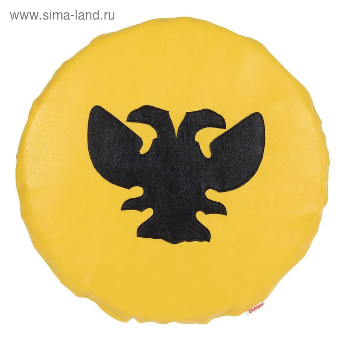 Щит круглый, цвет жёлто-чёрный