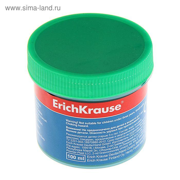 Гуашь 100мл заленая Erich Krause, EK 35123