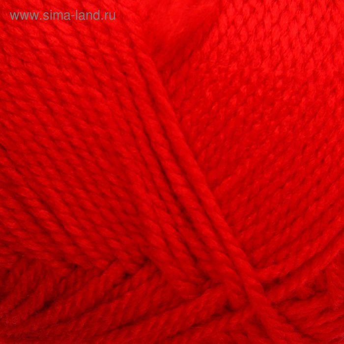 Пряжа Астра 'Acrylic / Акрил' 100% акрил 300м/100гр (красный)
