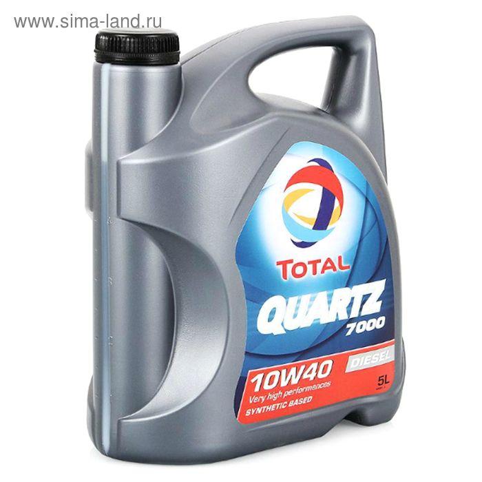 Моторное масло Total Quartz 7000 Diesel 10W-40, 5 л