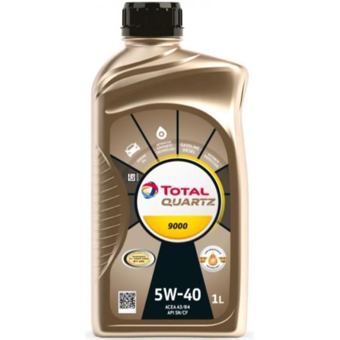 Моторное масло Total Quartz 9000 5W-40, 1 л