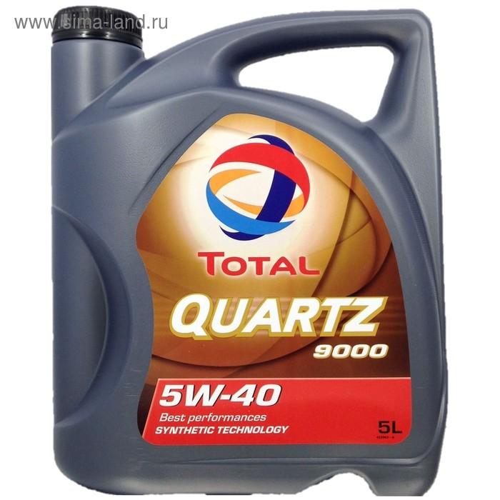 Моторное масло Total Quartz 9000 ENERGY 5W-40, 5 л
