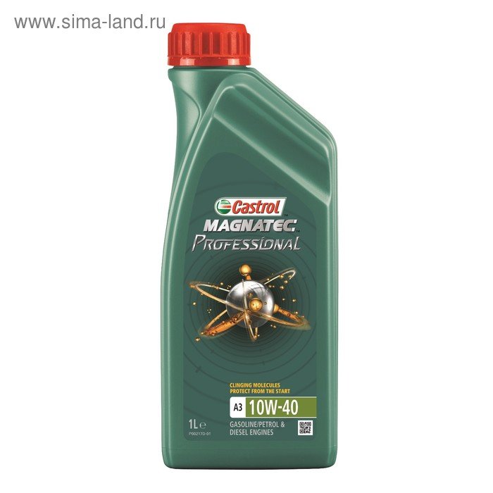 Моторное масло Castrol Magnatec Professional A3 10W-40, 1 л