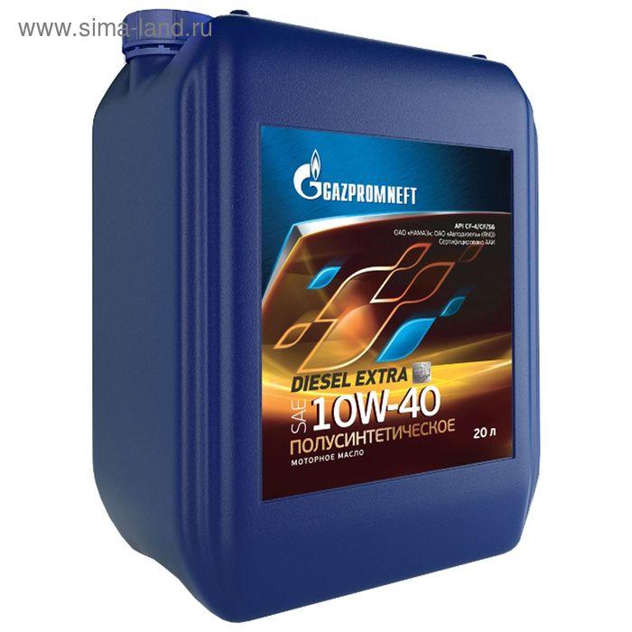 Моторное масло Gazpromneft Diesel Extra 10W-40, 20 л