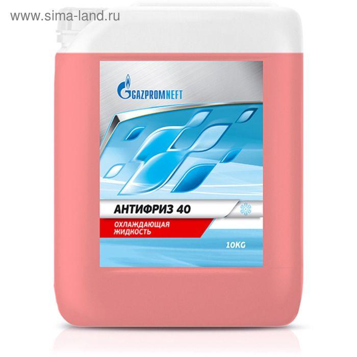 Охлаждающая жидкость Gazpromneft АНТИФРИЗ 40 красный, 10 кг
