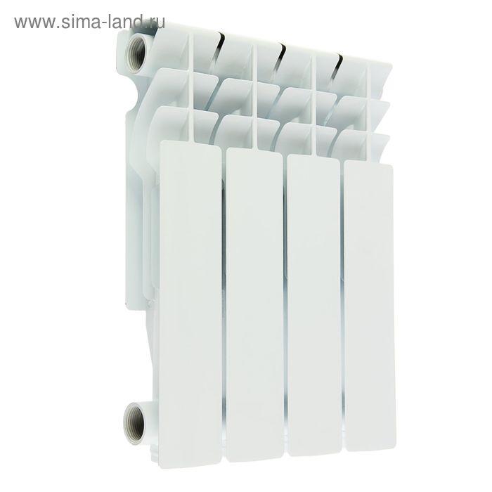 Радиатор Oasis, алюминиевый, литой, 350/80, 4 секции