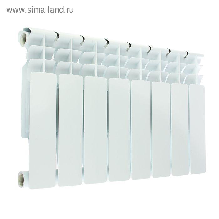 Радиатор Oasis, алюминиевый, литой, 350/80, 8 секций
