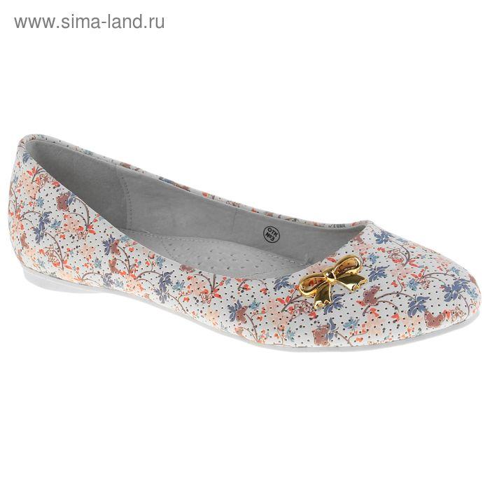 Туфли для девочек, цвет белый, размер 33 (арт. 21814)