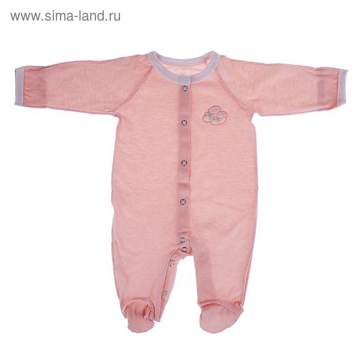Комбинезон, рост 62 см, цвет розовый (арт . 30-11ТР(КУ)-Ап)