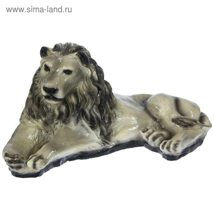 """Садовая фигура """"Серый лев"""""""