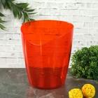 Кашпо для орхидей 0,8 л Mia, цвет апельсиновый