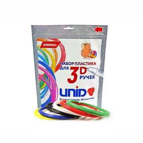 Пластик PLA-6, по 10 м, 6 цветов в наборе Ош
