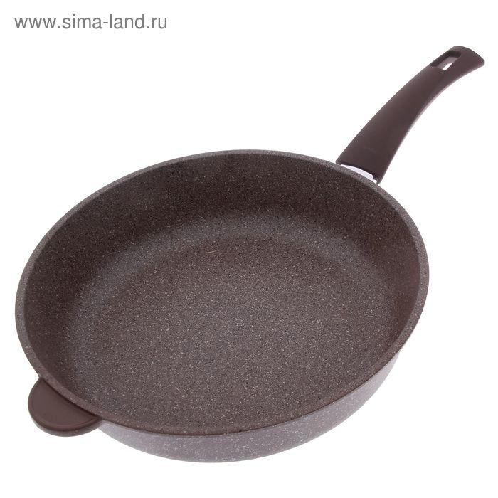 """Сковорода d=28 см PIETRA """"Тёплый гранит"""""""