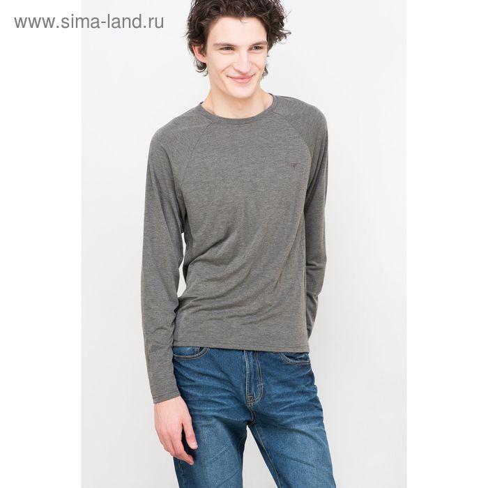 Фуфайка мужская, цвет серый меланж, размер 50 (XL), рост 176 см (арт. 619016403)
