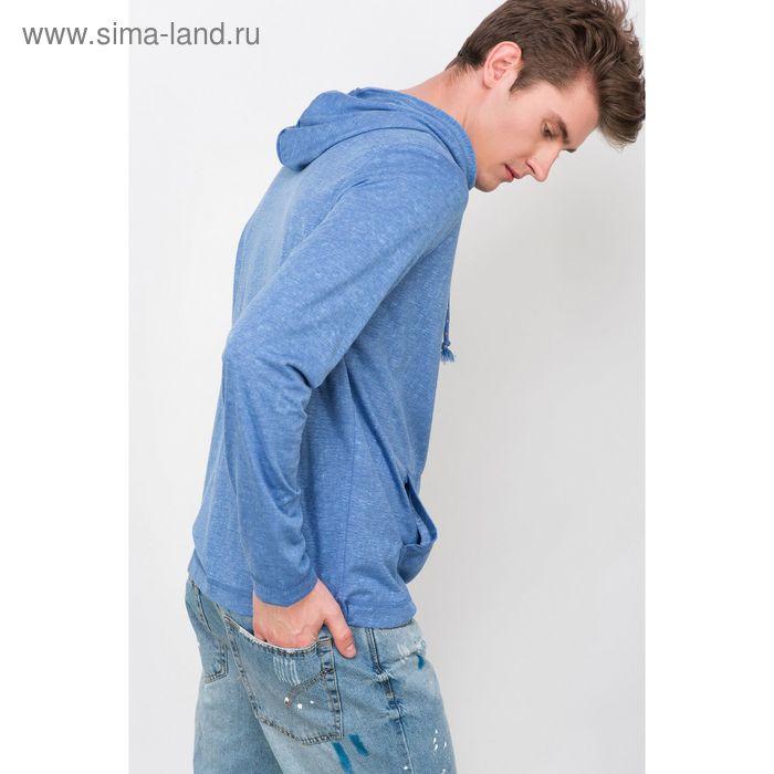 Джемпер мужской, цвет синий, размер 44 (XS), рост 176 см (арт. 619039903)