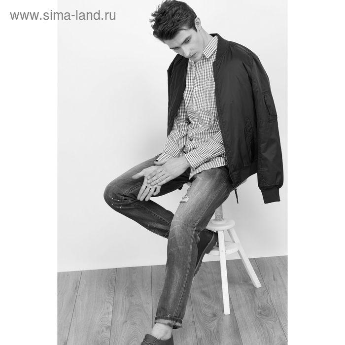 Куртка мужская, цвет тёмно-синий, размер 48 (M), рост 176 см (арт. 619038104)