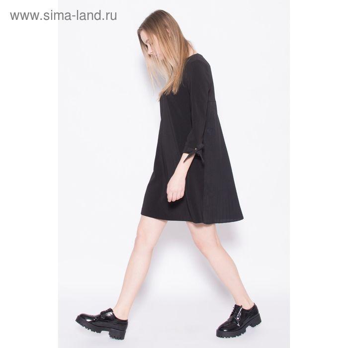 Платье женское, цвет чёрный, размер 48 (XL), рост 170 см (арт. 1611068528)