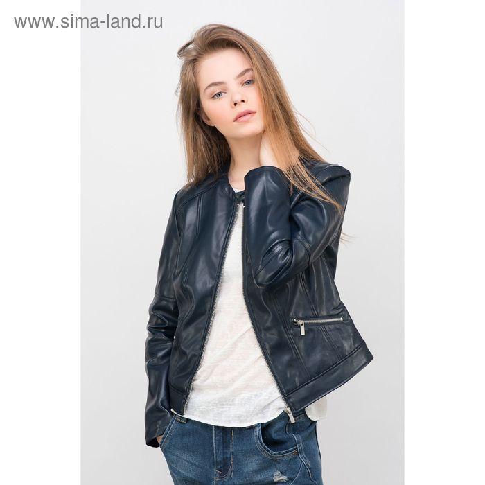 Куртка женская, цвет тёмно-синий, размер 46-48 (L), рост 170 см (арт. 1611273119)