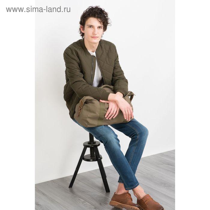 Куртка мужская, цвет хаки/оливковый, размер 46 (S), рост 176 см (арт. 619000100)