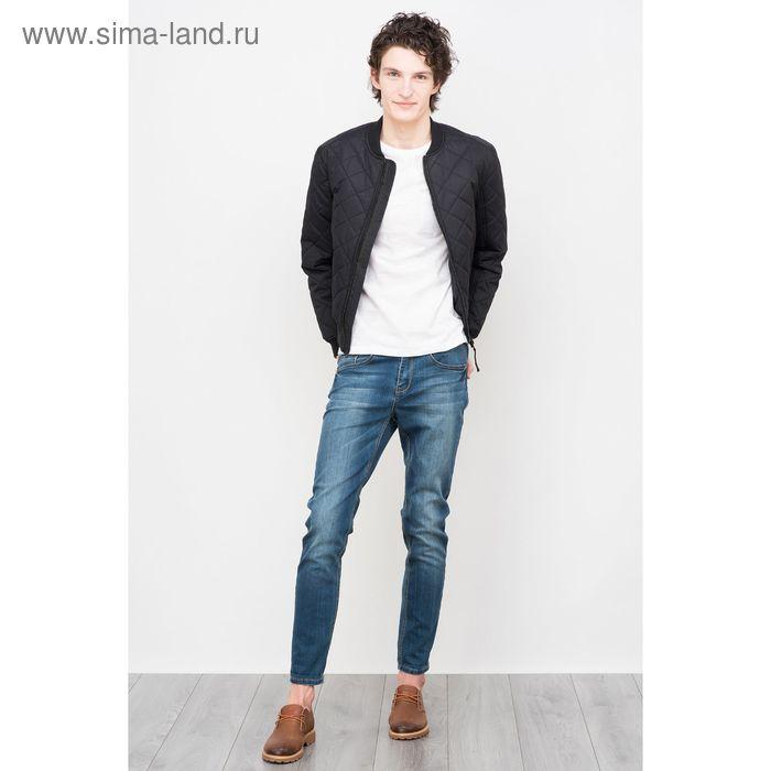 Куртка мужская, цвет чёрный, размер 52-54 (XXL), рост 176 см (арт. 619000100 С+)
