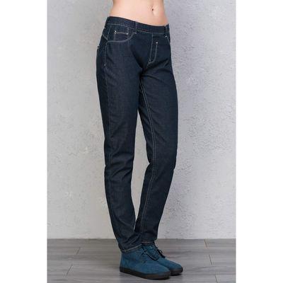 Джинсы женские, цвет тёмный индиго, размер 42 (XS), рост 170 см (арт. 1611030705)