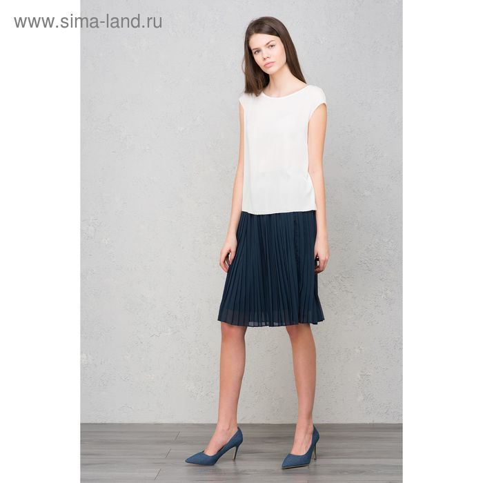 Блузка женская, цвет белый, размер 44 (S), рост 170 см (арт. 1611316326)