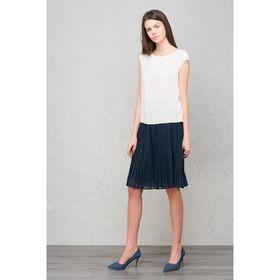 Блузка женская, цвет белый, размер 46-48 (L), рост 170 см (арт. 1611316326)