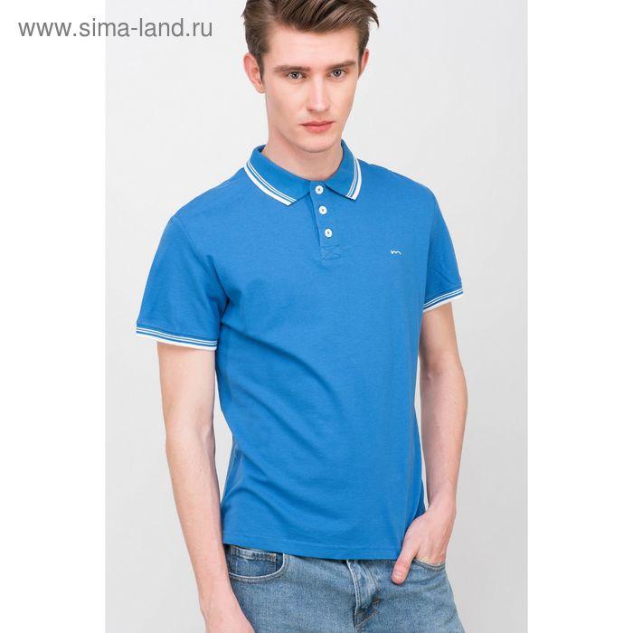 Фуфайка мужская, цвет синий, размер 44 (XS), рост 176 см (арт. 619040411)