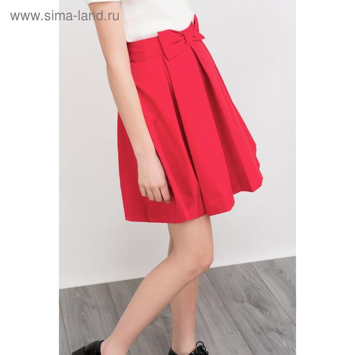 Юбка женская, цвет красный, размер 48 (XL), рост 170 см (арт. 1611301222)