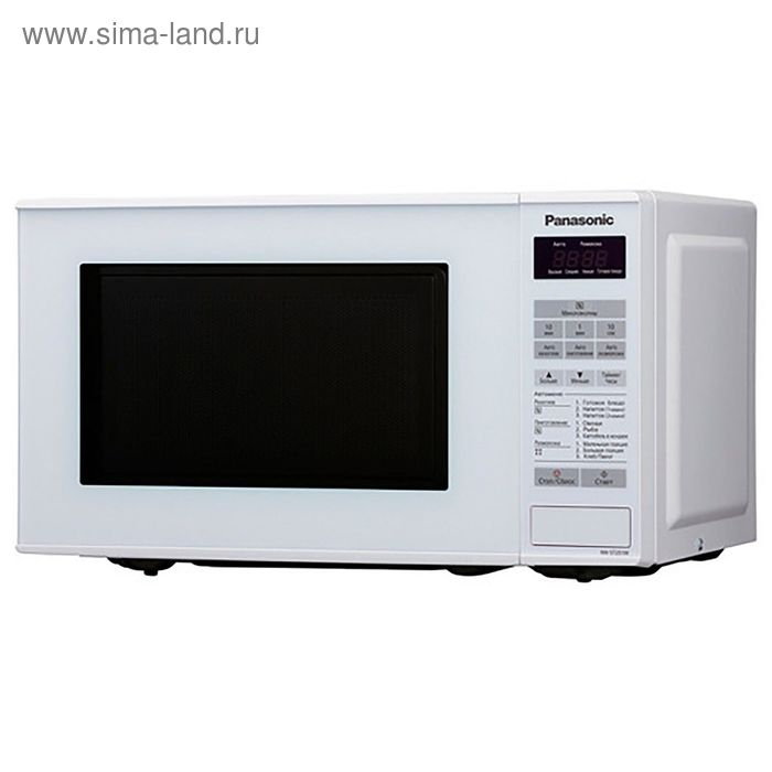 Микроволновая печь Panasonic NN-ST251WZTE, 20 л, 800 Вт, белый