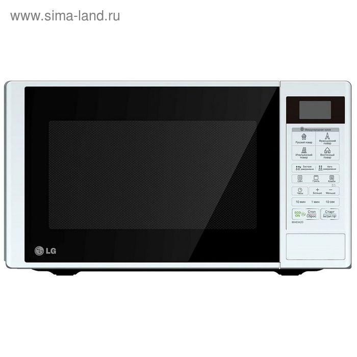 Микроволновая печь LG MB4042D, 20 л, 700 Вт, белый